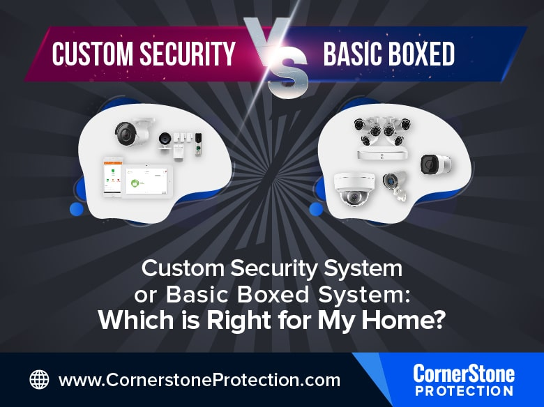 custom security system or basic box security cornerstone protection