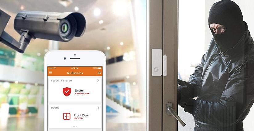 custom smart Home security cornerstone protection