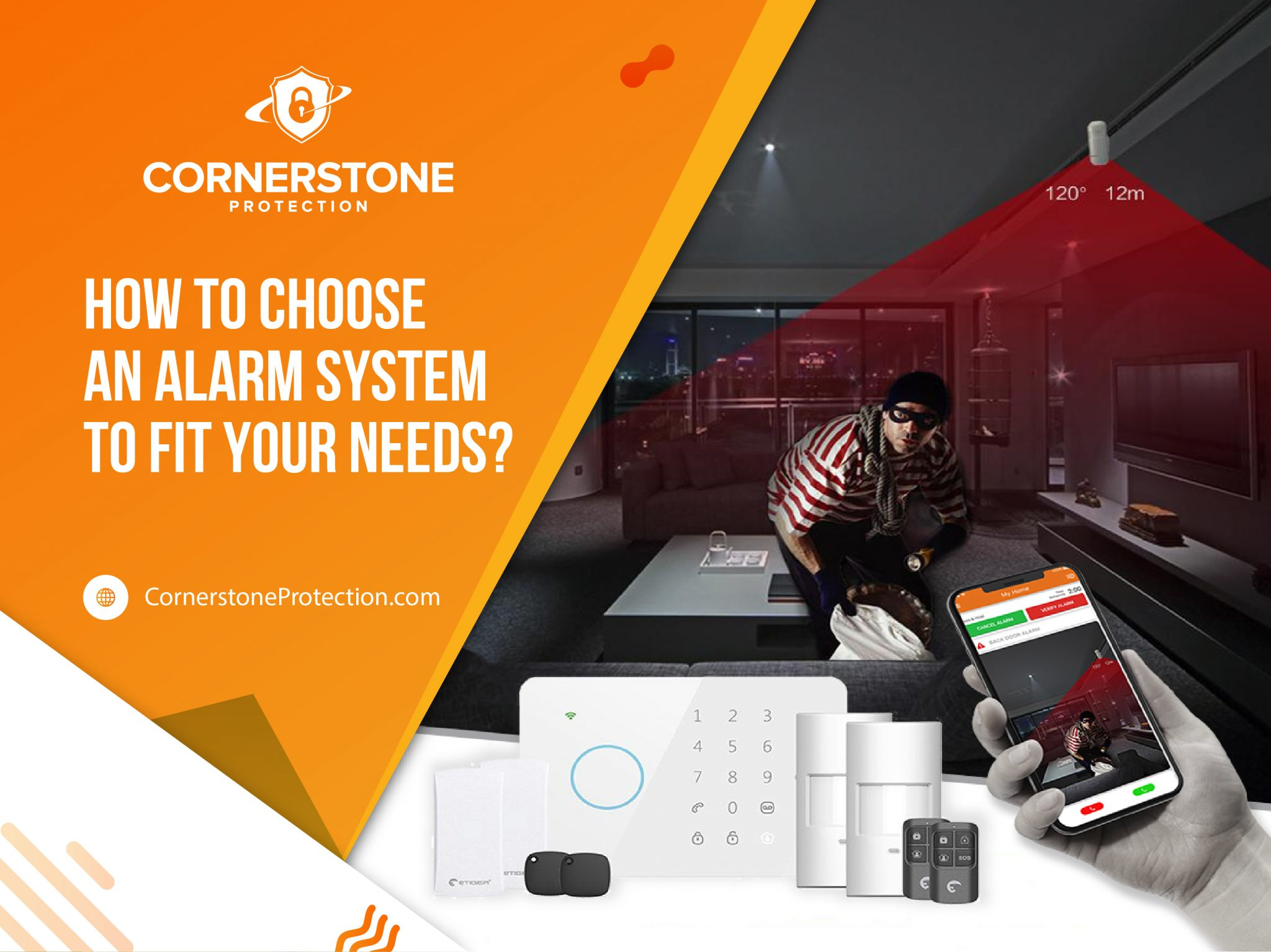 how to choose an alarm system to fit your needs cornerstone protection