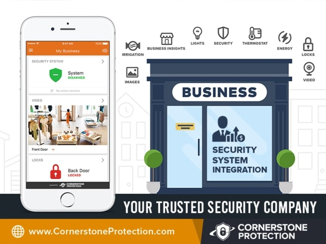 security system integration cornerstone protection
