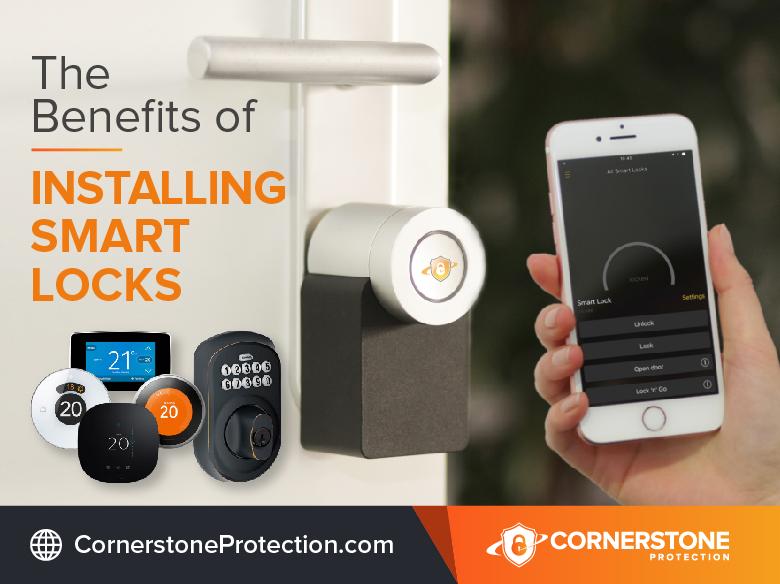 benefits of installing smart locks cornerstone protection