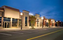 improve exterior lighting on small business security cornerstone protection