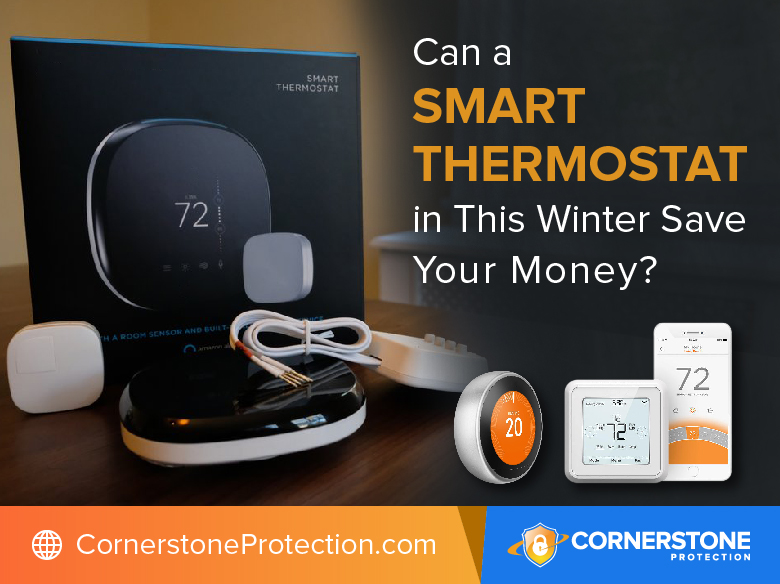 can smart thermostat save you money in winter cornerstone protection