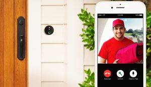doorbell security cameras and smart locks installed cornerstone protection