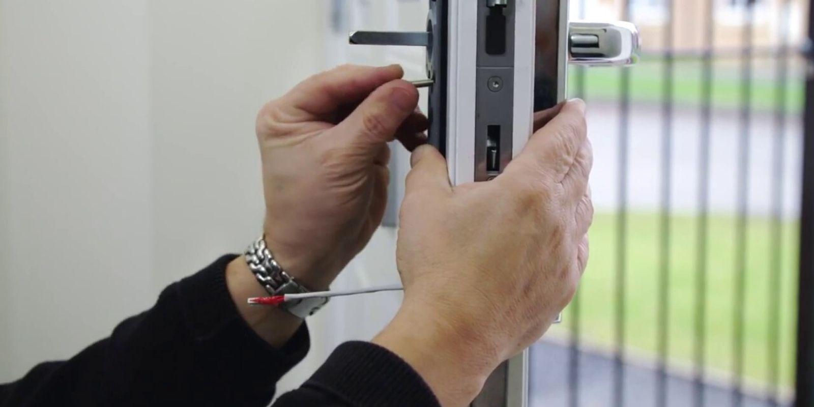 home security locks cornerstone protection