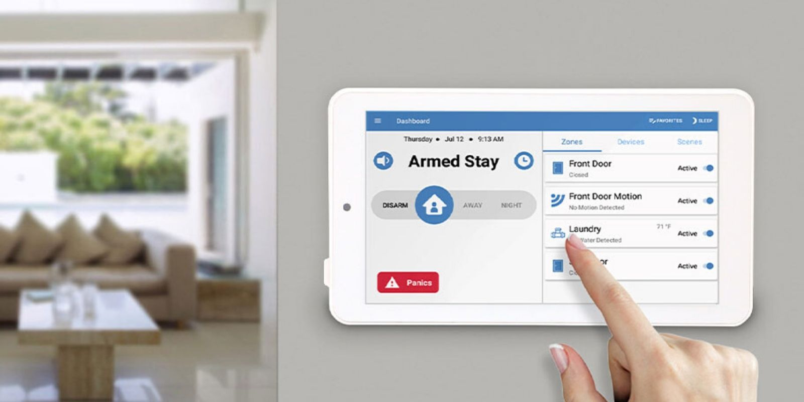 home security monitoring cornerstone protection