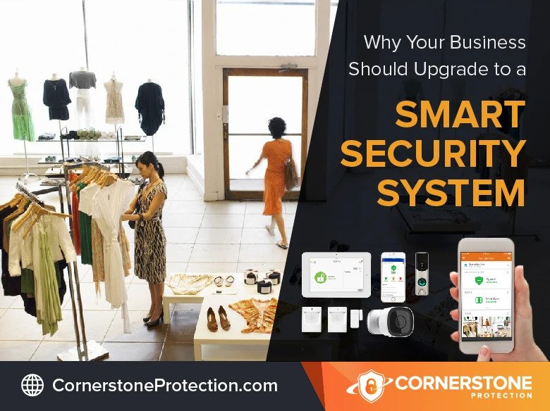 security systems for business cornerstone protection