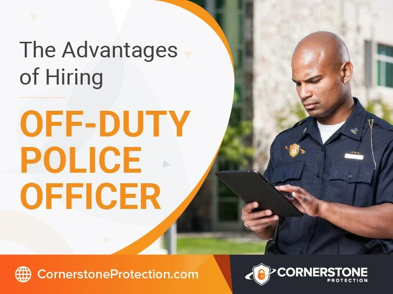 hire off duty police officer cornerstone protection