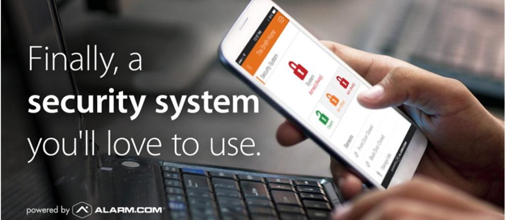 alarm com app integration with iq panel 2 cornerstone protection