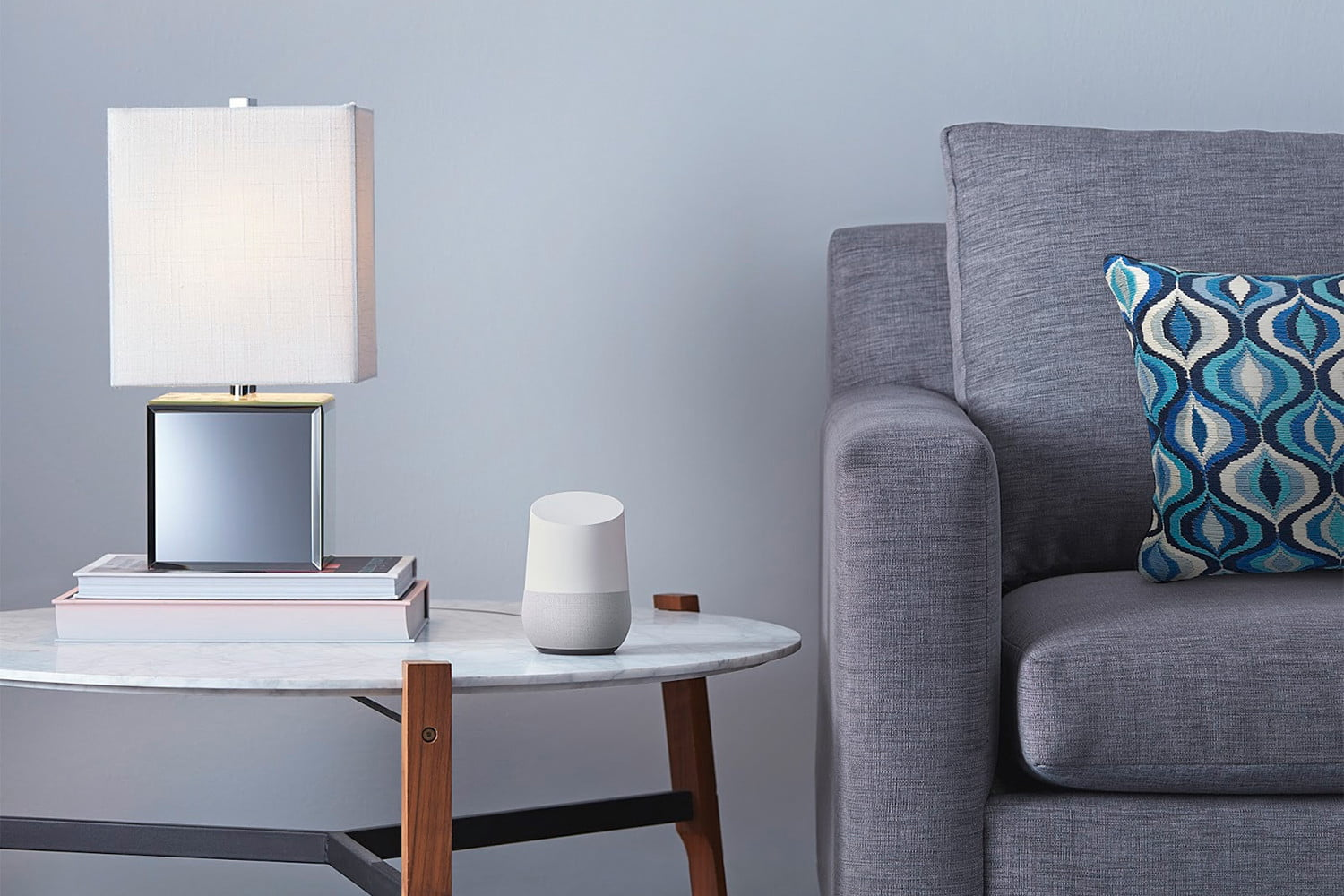 google home voice assistant cornerstone protection