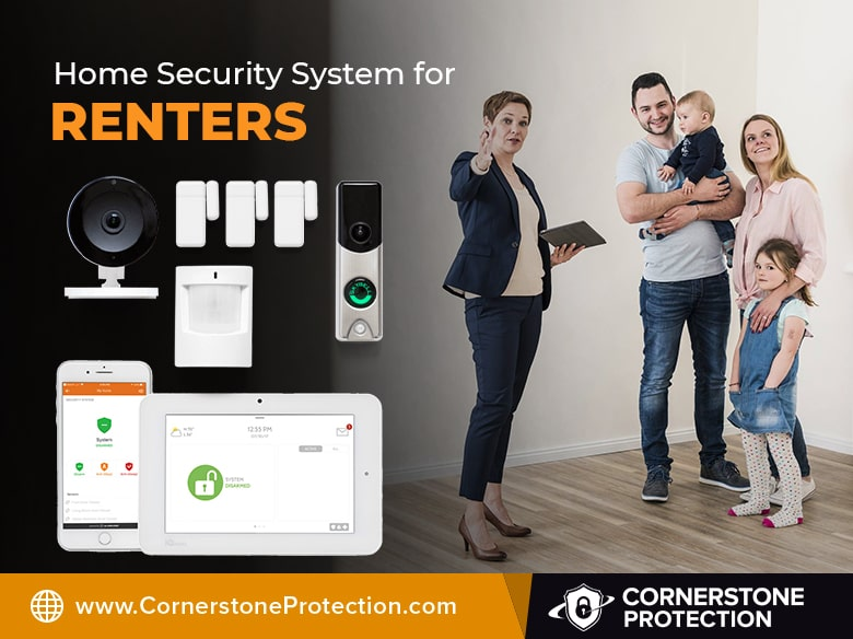 security systems for renters cornerstone protection