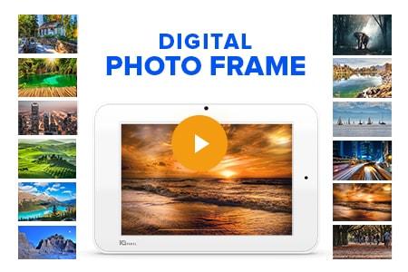 qolsys iq panel 2 touchscreen digital photo frame cornerstone protection