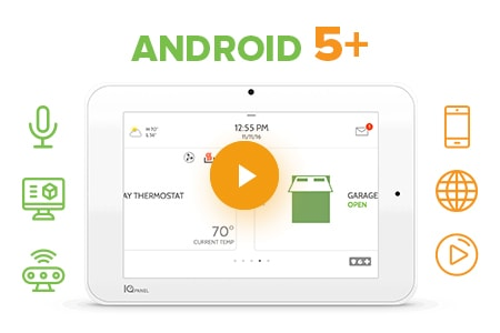 qolsys upgradable android 5 operating system cornerstone protection