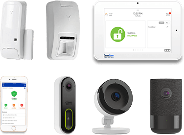 home security packages compare cornerstone protection