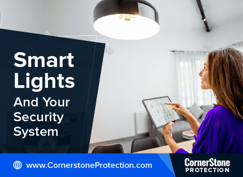 smart lighting security system features and benefits cornerstone protection