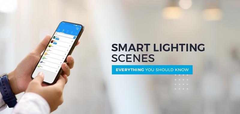 smart lighting setting scenes cornerstone protection